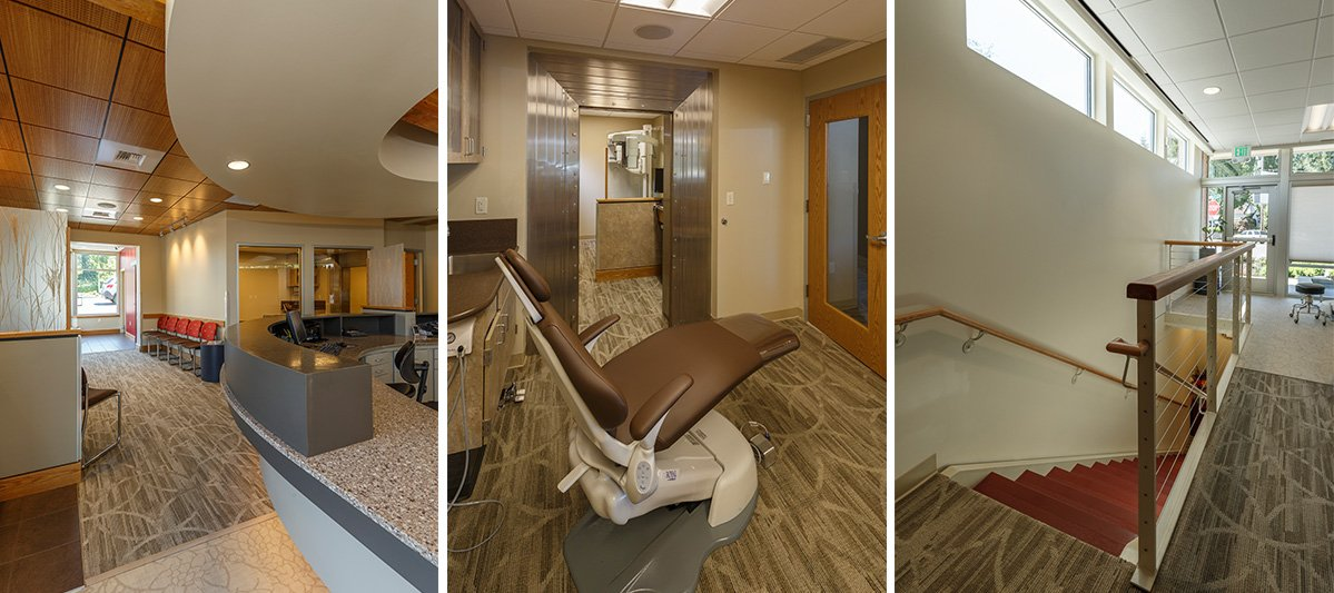 Berschauer Group conversion construction project for Dental facility for DeJesus Orthodontics