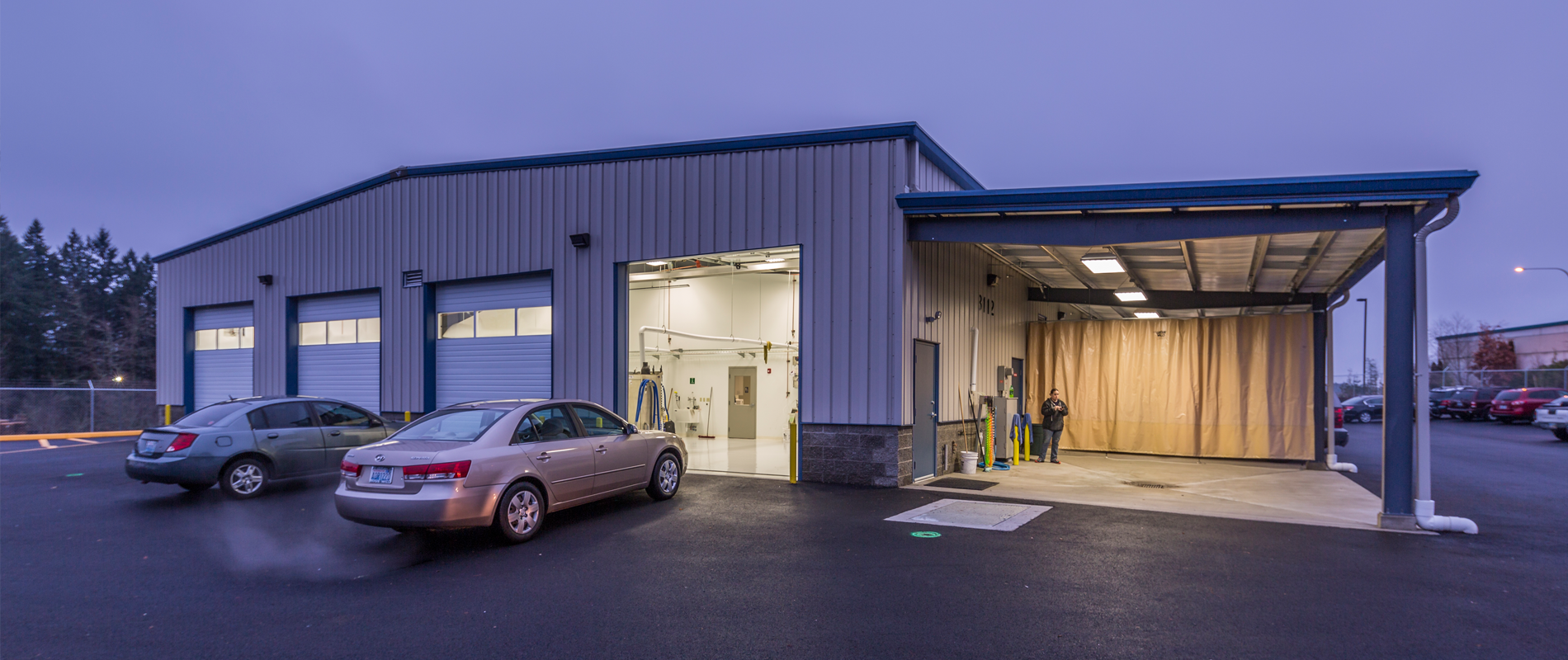Berschauer Group Construction and Development of Titus Will Service Center – Tumwater, WA